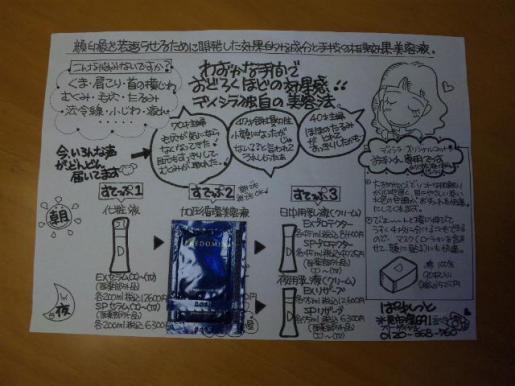 スキンケア・サーキュリストのチラシ.JPG